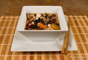 Vegan Udon Soup