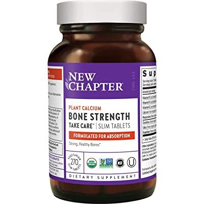 New Chapter Vegan Calcium Supplement