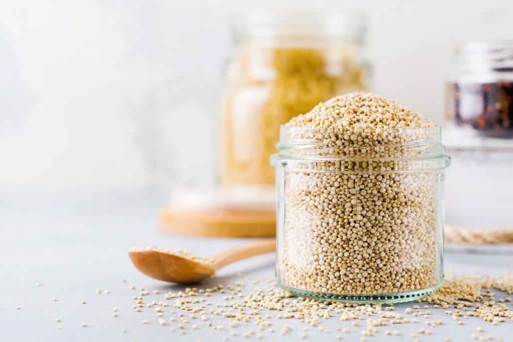 quinoa iron content