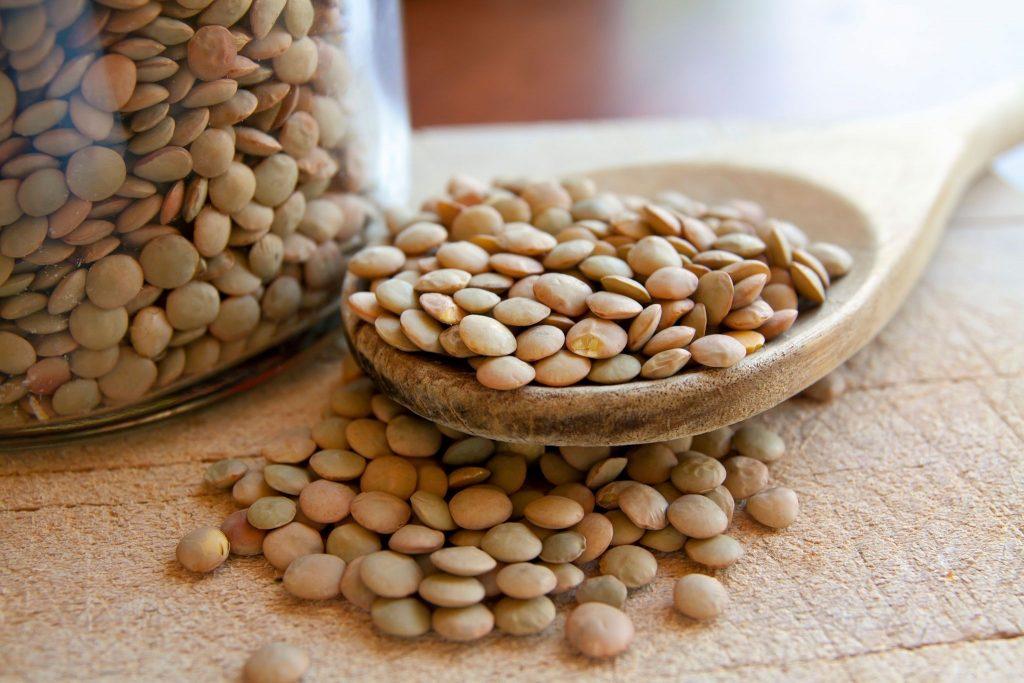lentils iron content